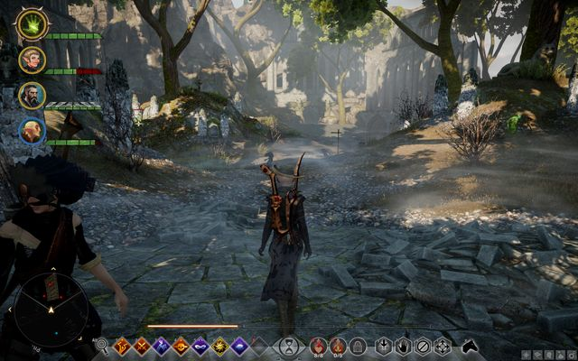Elven cemetery - From the Beyond - Side quests - Exalted Plains - Dragon Age: Inquisition Game Guide & Walkthrough