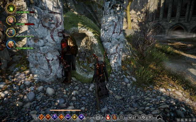 One of the graves which you need to open - The Spoils of Desecration - Side quests - Exalted Plains - Dragon Age: Inquisition Game Guide & Walkthrough