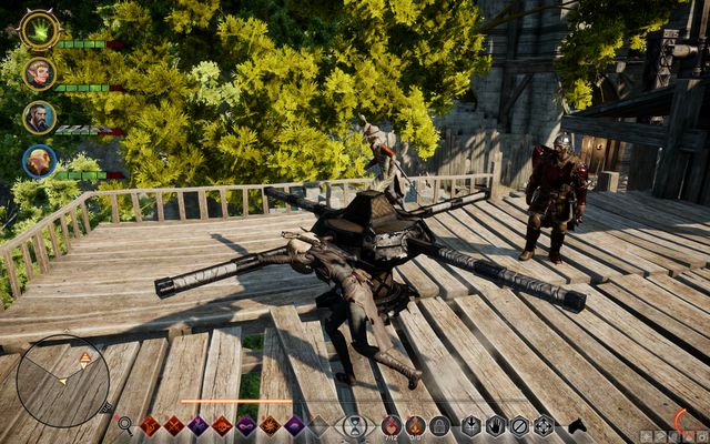The defense system mechanism - For the Empire - Side quests - Exalted Plains - Dragon Age: Inquisition Game Guide & Walkthrough