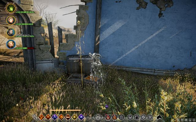 It is easy to notice the supplies thanks to the barrels and chests - Pressed for Cache - Side quests - Exalted Plains - Dragon Age: Inquisition Game Guide & Walkthrough