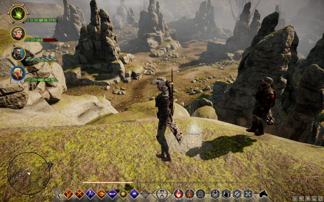 The treasure on the hill - Map of Halinsulahn - Side quests - Exalted Plains - Dragon Age: Inquisition Game Guide & Walkthrough