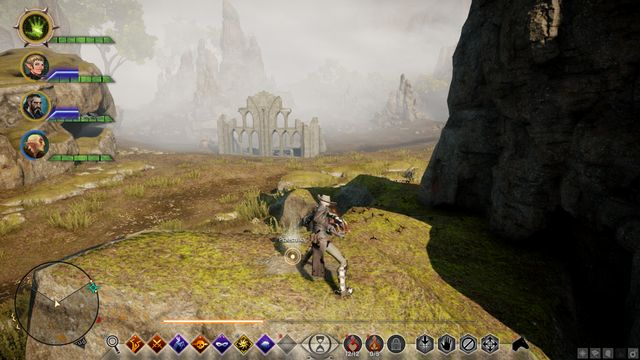 The treasure on the rock - Map of Enavuris - Side quests - Exalted Plains - Dragon Age: Inquisition Game Guide & Walkthrough