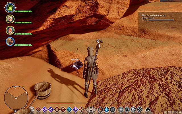 Lazurite Ore - Lazurite Survey in the Approach - Side quests - The Western Approach - Dragon Age: Inquisition Game Guide & Walkthrough
