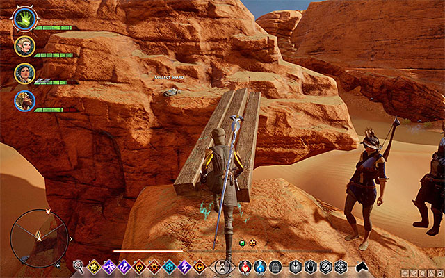 Use a mage to create a bridge - Shards in the Approach - Side quests - The Western Approach - Dragon Age: Inquisition Game Guide & Walkthrough