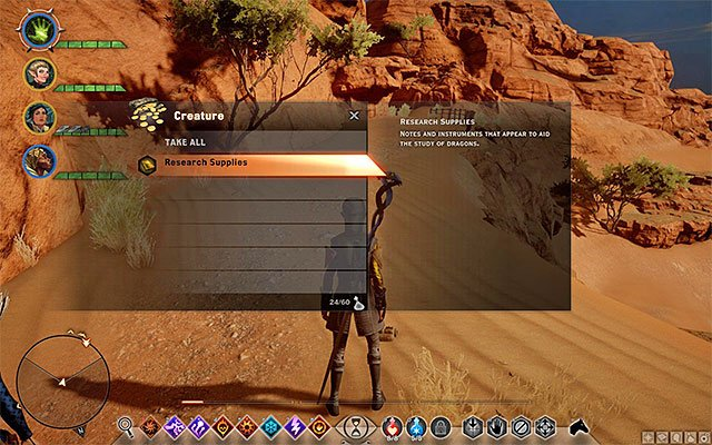 Collect 3 research supplies - Frederics Livelihood - Side quests - The Western Approach - Dragon Age: Inquisition Game Guide & Walkthrough