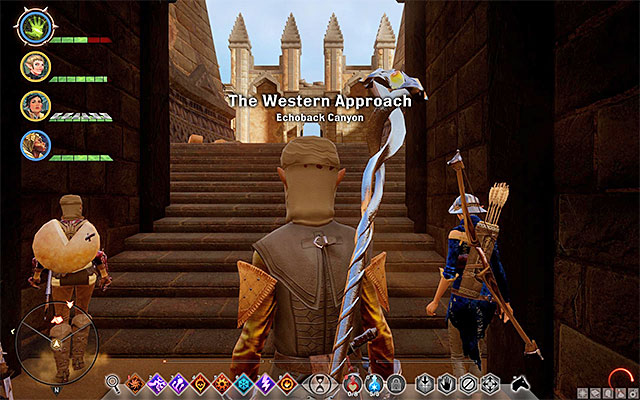 After exiting the ruins you will find yourself in the camp - The Trouble with Darkspawn - Side quests - The Western Approach - Dragon Age: Inquisition Game Guide & Walkthrough