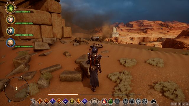 The dragon trap - The Abyssal High Dragon - Side quests - The Western Approach - Dragon Age: Inquisition Game Guide & Walkthrough