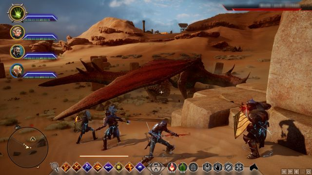 The Abyssal High Dragon - The Abyssal High Dragon - Side quests - The Western Approach - Dragon Age: Inquisition Game Guide & Walkthrough