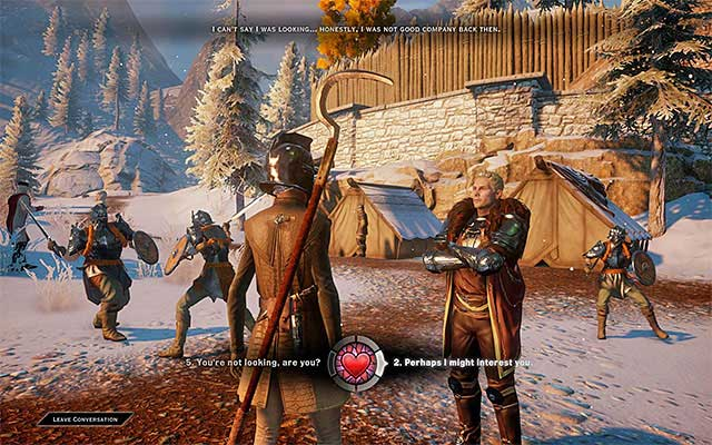 Cullen - Romance with Cullen - Romances - Dragon Age: Inquisition Game Guide & Walkthrough