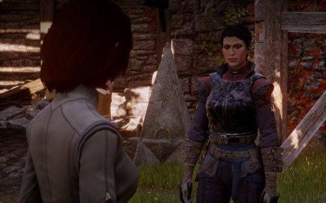 Talk to Cassandra near the tavern. - Unfinished Business - The Inner Circle (companion quests) - Dragon Age: Inquisition Game Guide & Walkthrough