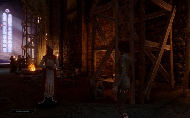 Mother Giselle in the main hall. - Last Resort of Good Men - The Inner Circle (companion quests) - Dragon Age: Inquisition Game Guide & Walkthrough