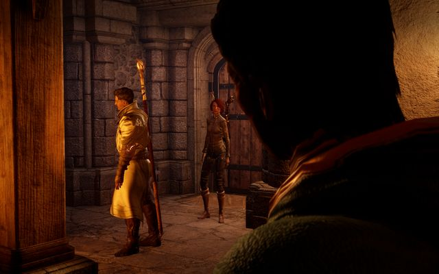 The cut-scene when walking into the tavern. - Last Resort of Good Men - The Inner Circle (companion quests) - Dragon Age: Inquisition Game Guide & Walkthrough