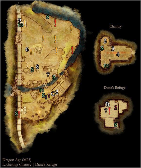 World Atlas - Maps - Main areas - Lothering - Dragon Age: Origins ...