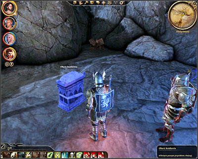 Description: This quest will appear in your journal only after you've successfully collected all three parts of the demon - Orzammar - Asunder - Orzammar - Dragon Age: Origins - Game Guide and Walkthrough