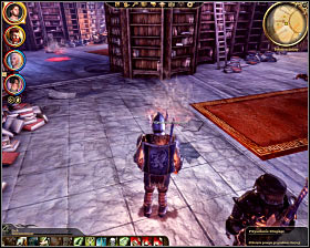 Step 4: Click on a portal of summoning the Second - The Circle tower - Summoning sciences - The Circle tower - Dragon Age: Origins - Game Guide and Walkthrough