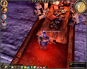 Step 6: Click on the wooden table in the northern section of the library (M33, 22) - The Circle tower - Summoning sciences - The Circle tower - Dragon Age: Origins - Game Guide and Walkthrough