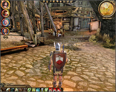 Description: After this has quest has officially appeared in your journal leave the estate and travel to [Denerim - Elven alienage] (M66, 1) using the passageway found in the market district or by choosing the correct location from Denerim map - Denerim - Unrest in the alienage - Denerim - Dragon Age: Origins - Game Guide and Walkthrough
