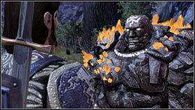 SHALE (golem, warrior) - DLC - The Stone Prisoner - New follower - Shale - DLC - The Stone Prisoner - Dragon Age: Origins - Game Guide and Walkthrough
