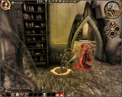 You'll start exploring this area in the first circle (M37, 1) and if you can't turn yourself into a burning man or a golem you'll have to be very careful, because you'll be dealing with a lot of dangerous abominations, arcane horrors and traps along the way - Lost in dreams - Main quests - Dragon Age: Origins - Game Guide and Walkthrough