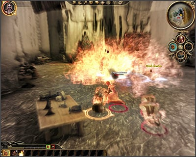 The next two rooms are heavily guarded by even more mages, so you should keep playing as a burning man in order to avoid trouble - Lost in dreams - Main quests - Dragon Age: Origins - Game Guide and Walkthrough