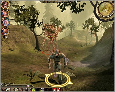 Keep moving slowly, because you'll be encountering new monsters every few meters and a large ogre is going to be one of the creatures you'll have to kill - Nature of the beast - Main quests - Dragon Age: Origins - Game Guide and Walkthrough