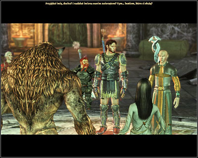 You won't be able to effect the outcome of this conversation in any major way, but thankfully Zathrian won't attack you when he finds out that the werewolves are still alive - Nature of the beast - Main quests - Dragon Age: Origins - Game Guide and Walkthrough