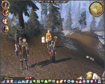 She is looking for some Northern Prickleweed Seeds (M5, 13) and she wont go anyway until she wont have it - Walkthrough - The Wending Wood - Side Quests - Dragon Age: Origins - Awakening - Game Guide and Walkthrough