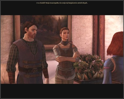 You will find Nida with her lover. This fact will not change the conversation. - Walkthrough - The Wending Wood - Side Quests - Dragon Age: Origins - Awakening - Game Guide and Walkthrough