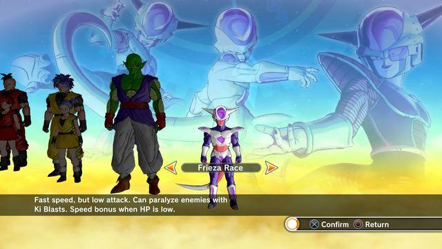 Character creation | Introduction - Dragon Ball: Xenoverse