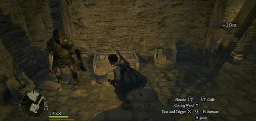 You'll find yourself in the building controlled by Goblins - A Fortress Besieged - Act II - Dragons Dogma - Game Guide and Walkthrough