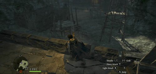 Once you've cleared the way, climb down and go the ruins on the left - Station Room (halfway through the courtyard) - A Fortress Besieged - Act II - Dragons Dogma - Game Guide and Walkthrough