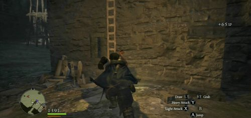 The main entrance to the ruins (the gate) will be blocked on the other side - A Fortress Besieged - Act II - Dragons Dogma - Game Guide and Walkthrough