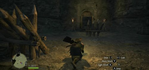 When the Cyclopses are down, enemies will retreat to the next part of the structure - A Fortress Besieged - Act II - Dragons Dogma - Game Guide and Walkthrough