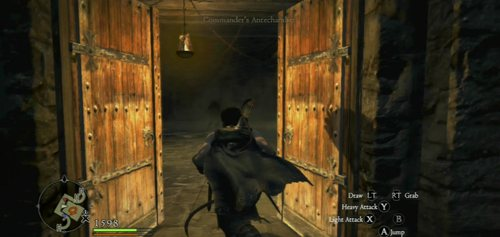 Finally, use the double wooden door and fight the Goblin leader (he's not particularly difficult) - A Fortress Besieged - Act II - Dragons Dogma - Game Guide and Walkthrough