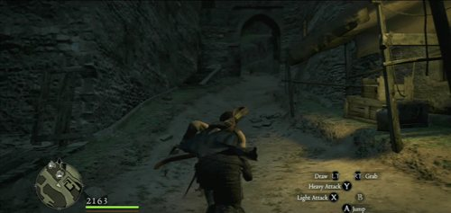 Patrol the streets until you see a fleeing thief - he's usually around the main street - An Uninvited Guest - Act I - Dragons Dogma - Game Guide and Walkthrough