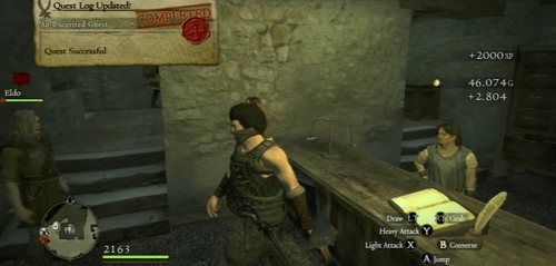 Finally, report back to Pablos - An Uninvited Guest - Act I - Dragons Dogma - Game Guide and Walkthrough