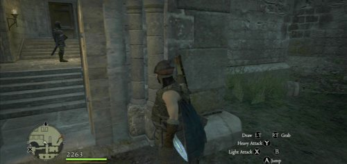 To get to the tower, go up to the first floor of the castle - Arousing Suspicion - Act II - Dragons Dogma - Game Guide and Walkthrough