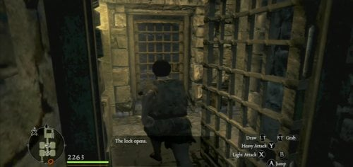 No matter what you choose, you'll end up in prison - Arousing Suspicion - Act II - Dragons Dogma - Game Guide and Walkthrough