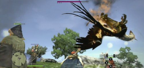 Weakness: Fire - Griffin - Bestiary - Dragons Dogma - Game Guide and Walkthrough