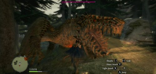 Description: A huge and powerful reptile - Drake, Wyvern, Wyrm - Bestiary - Dragons Dogma - Game Guide and Walkthrough