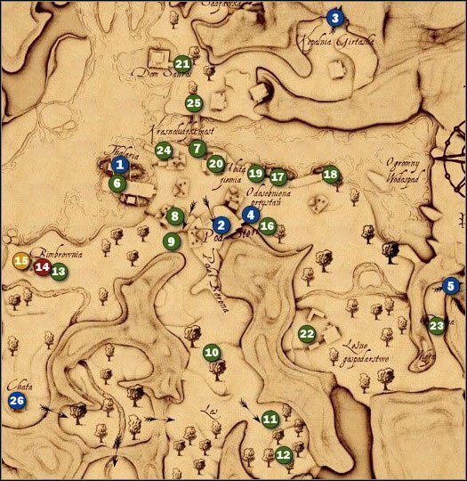 1 - M14 Hammerberg - Maps - Drakensang: The River of Time - Game Guide and Walkthrough