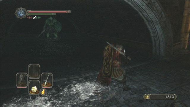 Derrote o cavaleiro.  - Heides Tower Of Flame - The Underground - Detonado - Dark Souls II - Guia do Jogo e Passo a passo