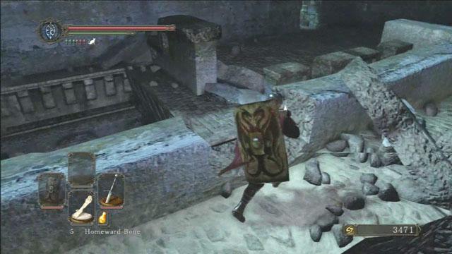 Vá até a parede destruída.  - The Lost Bastille - Detonado - Dark Souls II - Guia do Jogo e Passo a passo