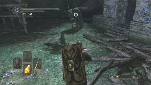 Derrote o gigante.  - The Lost Bastille - Detonado - Dark Souls II - Guia do Jogo e Passo a passo