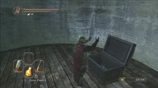 Abra o peito.  - Campanário Luna - Detonado - Dark Souls II - Guia do Jogo e Passo a passo