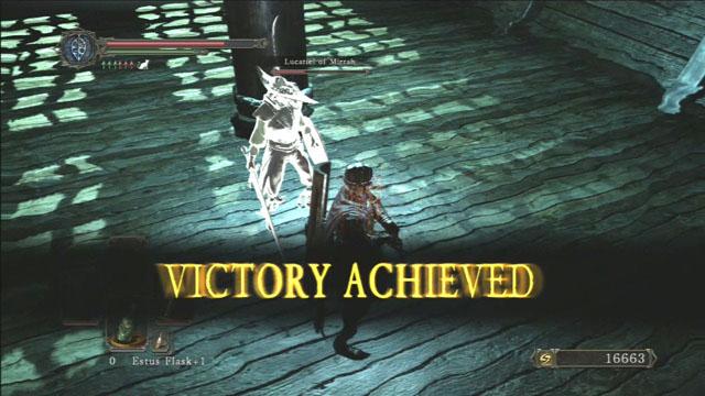 Vitória!  - Flexile Sentry - Como derrotar um chefe - Dark Souls II - Guia do Jogo e Passo a passo