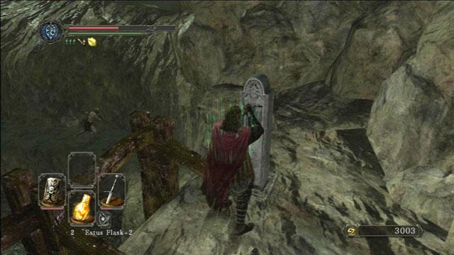 Use a alavanca.  - Colheita Valley - Passo a passo - Dark Souls II - Guia do Jogo e Passo a passo