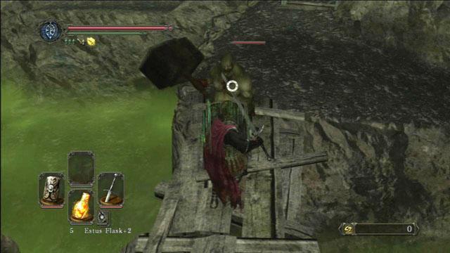 Derrote o inimigo.  - Colheita Valley - Passo a passo - Dark Souls II - Guia do Jogo e Passo a passo