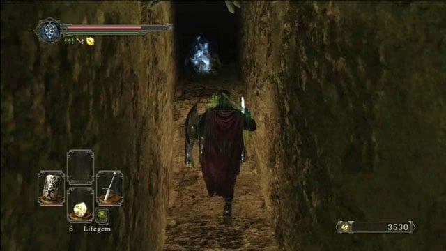 Colete o item.  - Colheita Valley - Passo a passo - Dark Souls II - Guia do Jogo e Passo a passo