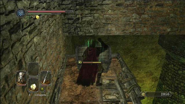 Abra o peito.  - Pico de terra - Passo a passo - Dark Souls II - Guia do Jogo e Passo a passo